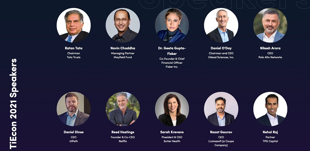 TiEcon 2021 Speakers